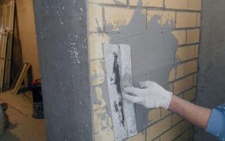 Какая бывает цементная штукатурка
