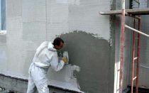 Как производится штукатурка фасада в мороз