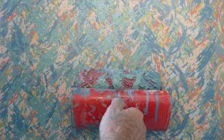 Декоративная фактурная краска для стен – несложная отделка