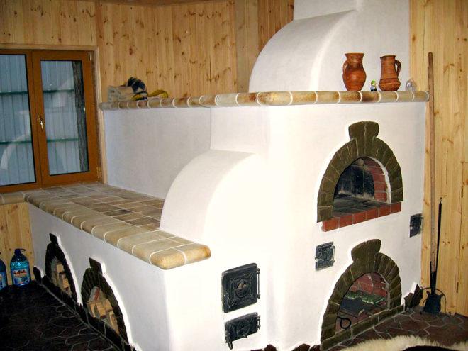Чем штукатурить кирпичную печь в доме